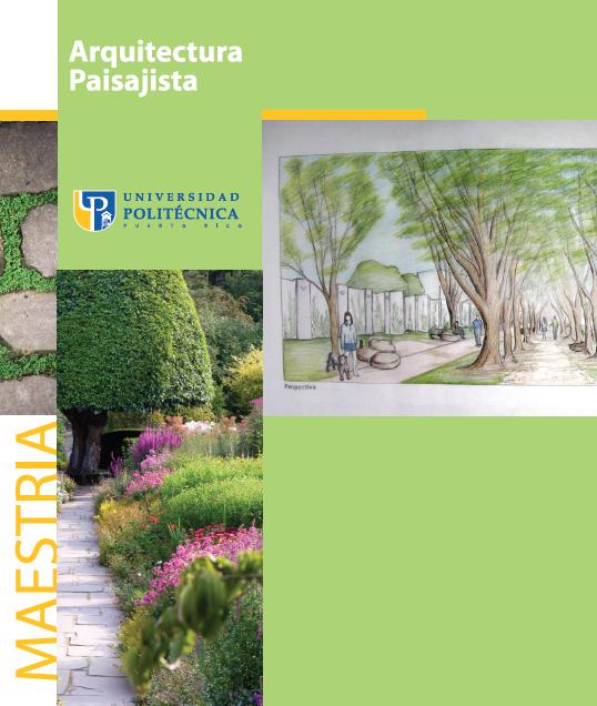 Conoce la escuela de arquitectura paisajista de la for La paisajista