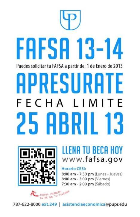 fafsa 13