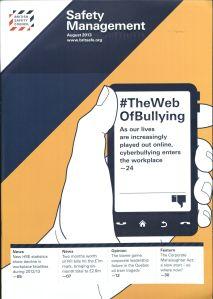 Artículo: The web bullying Autores: Sam Farley, Christine Sprigg, Carolyn Axtell y Iain Coyne  Fecha: agosto 2013 Clasificación T55 .A1 P7