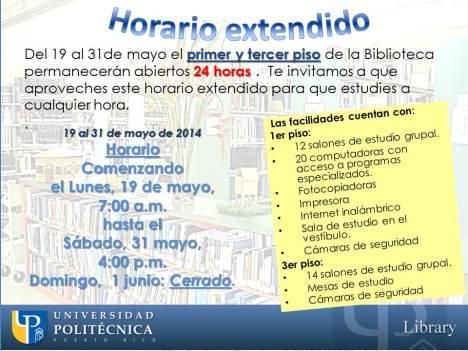 Horario extendido_biblioteca_Mayo2014