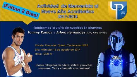 Actividad de Bienvenida Nuevo Año Académico 2017