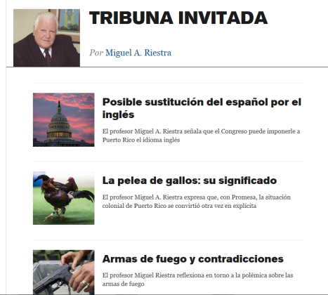 tribuna invitada