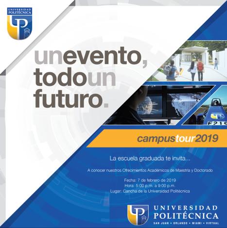 Campus Tour graduado